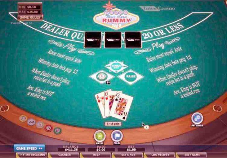 3 Card Rummy game online